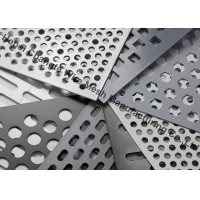 Buy cheap Zinc Coated 10% Opening Hot Dipped Galvanized Punching Metal Mesh from wholesalers