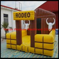 Buy cheap Best design cheap inflatable mechanical rodeo bull with gravity sensor from wholesalers