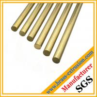 Buy cheap copper alloy Free Cutting Brass bars brass rods from wholesalers