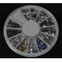 Buy cheap Marquise-High Quality Colors Nail Art Rhinestones Glitters Gems Nail Art Decoration Wheel from wholesalers