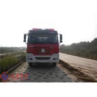 Buy cheap 6x4 Drive Type Fire Fighting Truck Red Painting With 100W Alarm Control System from wholesalers