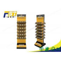 Buy cheap Customized Cardboard Floor Display Stands , Cardboard Display Racks For Promotion from wholesalers