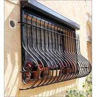 Buy cheap wrought iron window grille from wholesalers