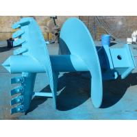 Buy cheap Earth Drill Boring Tools Double Cut Straight Drilling Auger With Rock Drilling Bits from wholesalers