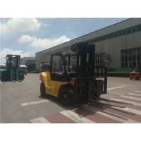 Chinese 8 ton diesel forklift truck with 4.5m triplex mast 2270mm fork length