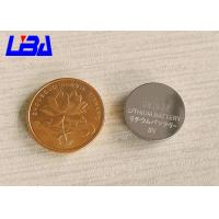 Buy cheap High Energy Density 3v coin battery , Eco - Friendly cr1632 battery cvs from wholesalers