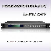 Buy cheap Six-Channel DVB-S/S2 Professional Receiver Digital tv headend RFR1206 from wholesalers