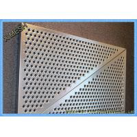Buy cheap Expanded Aluminium Perforated Metal Mesh Screen Sheet For Construction Field from wholesalers
