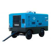 Buy cheap Electric Portable Trailer Air Compressor , Rock Drill High Pressure Air Compressor from wholesalers