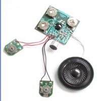 Buy cheap Customized Recordable Sound Module with microphone for sound greeting card from wholesalers