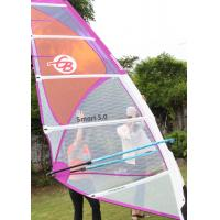 Buy cheap Smart 4.5 Polyester Durable Wind Surf Sail Lightweight 5 Batten with Adjustable Darcon Head from wholesalers