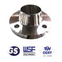 Buy cheap ANSI B16.5 stainless steel weld neck pipe flanges from wholesalers