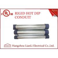 Buy cheap RGD Galvanized Rigid Steel Conduit , 1/2 Inch 4 inch Electrical Conduit Tubing from wholesalers