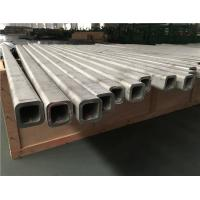 Buy cheap Seamless Stainless Steel Square Tube 2000-12000mm 304 316 Material from wholesalers