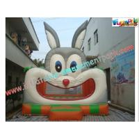 Buy cheap Inflatable Rabbit Commercial Bouncy Castles With CE / EN14960 from wholesalers