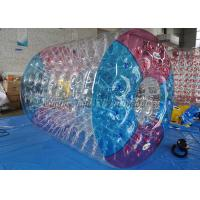 Buy cheap Transparent Water Roller Ball 1.0 Mm PVC Inflatable Roller Wheel from wholesalers