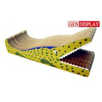 Buy cheap Chair Cardboard Cat Scratcher , Corrugated Cardboard Cat Scratchers from wholesalers
