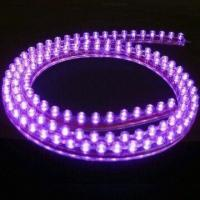 Buy cheap 5050 SMD Purple Flexible LED Strip with 30,000-hour Lifespan and 1-year Warranty product