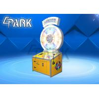 Buy cheap Spin N Win Lottery Redemption Equipment / Ticket Vending Machine Drop Coin Game from wholesalers