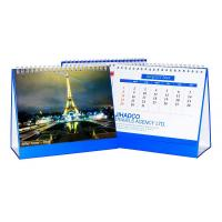 Buy cheap White YO Ring Bound Desk Calendar Printing For Travels Agency Company from wholesalers