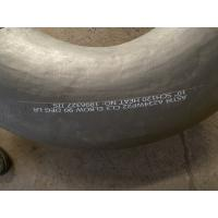 Buy cheap WP22 Material Grade Butt Weld Fittings ASTM A234 WP22 CL3 Black Surface from wholesalers