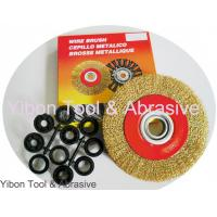 Buy cheap 4'' Good quality Crimp Steel Wire Brush from wholesalers