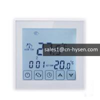 Buy cheap Programmable lcd touch panel heating digital wifi thermostat for solar water heater from wholesalers