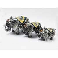 Buy cheap colourful elephant jewelry box elephant trinket elephant figure from wholesalers