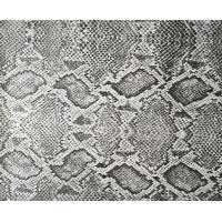 Quality Scratch Resistance Snakeskin Vinyl Fabric , Faux Leather Snakeskin Fabric for sale