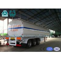 Buy cheap 54 m3 High Performance road tank semi trailer  For Oil Carrying 55 Tons - 75 Tons from wholesalers