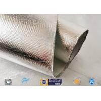 Buy cheap Industrial Hose Silver Coated Fabric Heat Sealing Aluminium Foil Coating from wholesalers