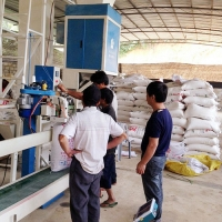 Buy cheap 3 Speed Semi Automatic 1.1kw 220V 380V Fertilizer Bagging Equipment from wholesalers