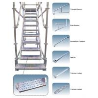 Buy cheap Customized Galvanized Steel Scaffolding Powder - Coated For Walking Stair from wholesalers