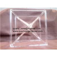 Buy cheap Clear quartz crystal singing pyramids factory sell directly made in china product