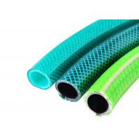 Buy cheap Non Toxic Fiber Strength Garden Water Hose High Pressure Braided PVC Garden Hose from wholesalers