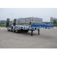 China 3mm Checker Plate Construction Equipment Trailers  Auto - Tuning I Beam Structure on sale
