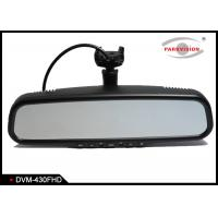 Buy cheap HD 1080P Car DVR Mirror Monitor Black Box Auto Recording With Front View Camera product