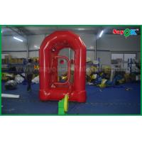Buy cheap Customized Red Inflatable Money Machine Box Game Oxford Cloth from wholesalers