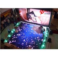 Buy cheap Interactive P6.25 LED Dance Floor Lights Portable Disco Floor 25600 Dots/m2 from wholesalers