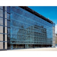 Buy cheap Architectural 4mm 5mm Aluminum Curtain Wall Facade from wholesalers