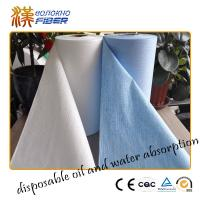 Buy cheap Baby Wipes Jumbo Roll Non Woven Synthetic Fabrics , Breathable Waterproof Nonwoven Fabric from wholesalers