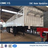 Buy cheap tri-axle fence semi-trailer and dolly trailer sales in Sudan from wholesalers