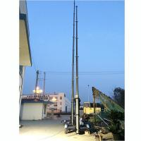 Buy cheap 15m lockable pneumatic telescopic mast 150kg payloads- mobile antenna telecom pneumatic telescopic mast tower from wholesalers