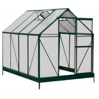 Buy cheap Sturdy Aluminum Framing 4mm UV Twin-wall Polycarbonate Sheets Greenhouses 6' X 8' from wholesalers