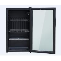 Buy cheap Energy Saving Glass Door Mini Refrigerator 90 Liter Exquisite Appearance Design from wholesalers