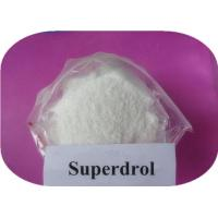 Methasterone Superdrol Raw Steroid Powder Anabolic Substance Steroid CAS 3381-88-2