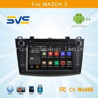Buy cheap Android 4.4 car dvd player GPS navigation for Mazda 3 2010-2012 with 7 2 din car audio from wholesalers
