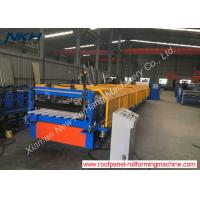 Buy cheap PLC Control Cold Roll Forming Machine For Zigzag / Fencing Panel from wholesalers