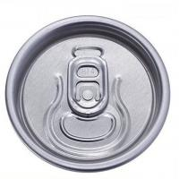 Buy cheap Aluminium Foil Beverage / Soda Can Saver Lids SOT PRT Carving Wards Ring Pull Tab from wholesalers