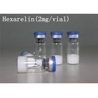 Buy cheap Hexarelin Acetate HEX human growth hormone steroids White Lyophilized Powder from wholesalers